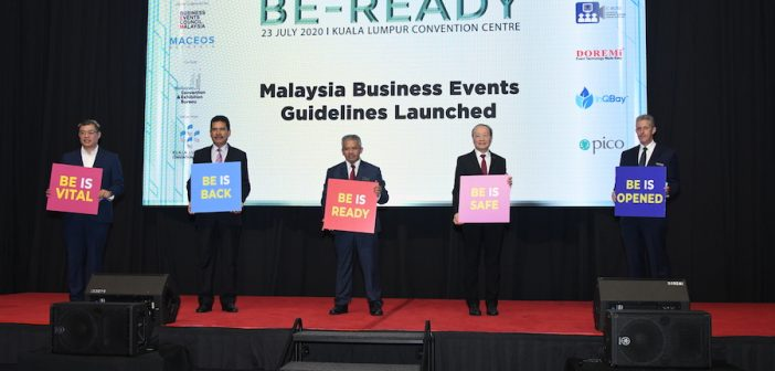 'BE-READY' For Business ~ MACEOS and BECM Announces the Business events (BE) or MICE guidelines and SOPs approved by Majlis Keselamatan Negara (MKN)