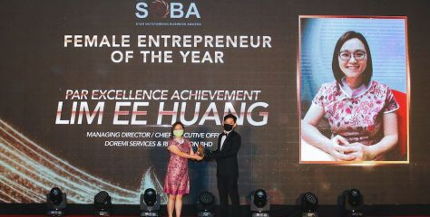 DOREMi Services & Rental Sdn Bhd Proudly Bags 2 Awards in The Star Outstanding Business Awards (SOBA) 2020