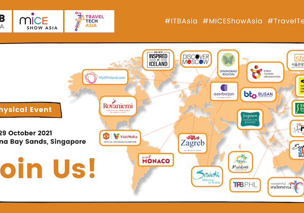 ITB Asia 2021 As A Physical Event In Singapore